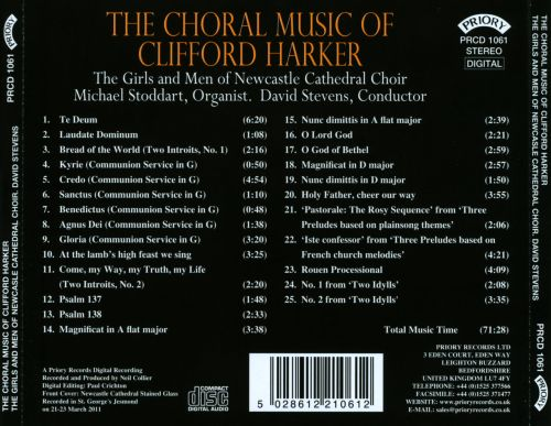 The Choral Music of Clifford Harker