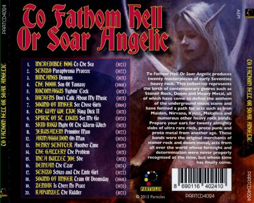 To Fathom Hell or Soar Angelic: A Lesson In Devilish Psychedelics 1968-1974
