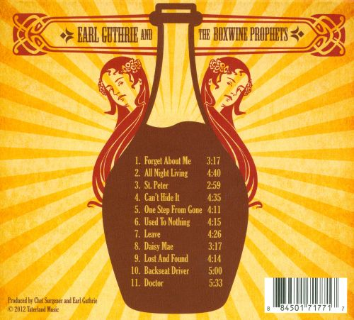 Earl Guthrie & the Boxwine Prophets