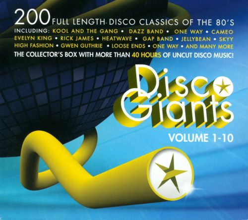 Disco Giants, Vol. 1-10