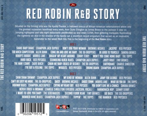 The Red Robin R&B Story