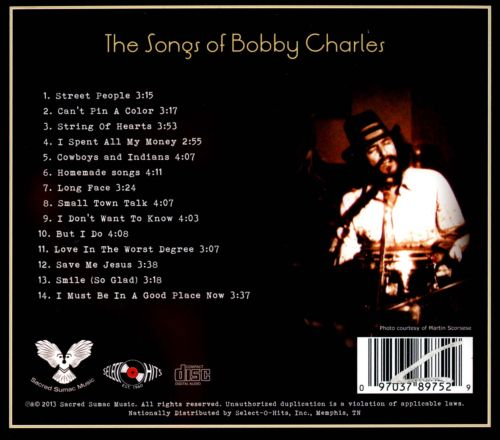 Small Town Talk (Songs of Bobby Charles)