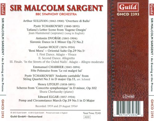 Sir Malcolm Sargent: An Evening at the Proms