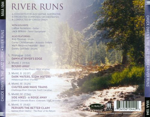 River Ruins: A Concerto For Jazz Guitar, Saxophone & Orchestra