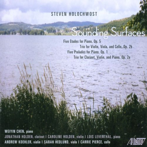 Steven Holochwost: Sounding Surfaces