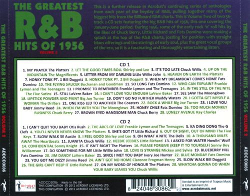 The Greatest R&B Hits of 1956, Vol. 2