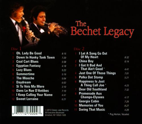 The Bechet Legacy: Birch Hall Concerts Live