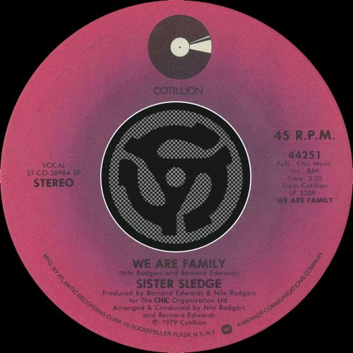 We Are Family [Single]