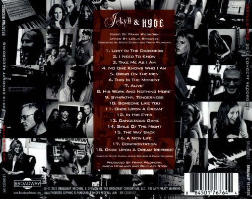 Jekyll & Hyde: 2012 Concept Recording