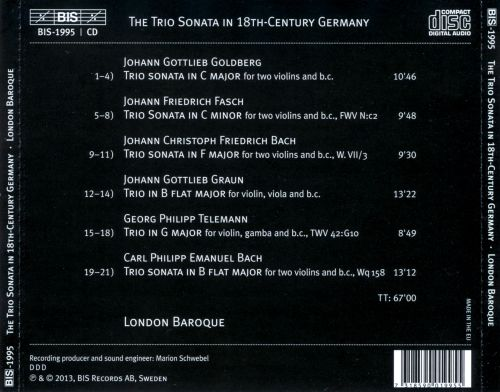 The Trio Sonata in 18th-Century Germany