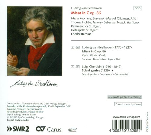Beethoven: Missa in C