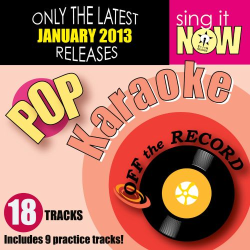 January 2013 Pop Hits Karaoke