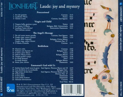 Laude: Joy and Mystery