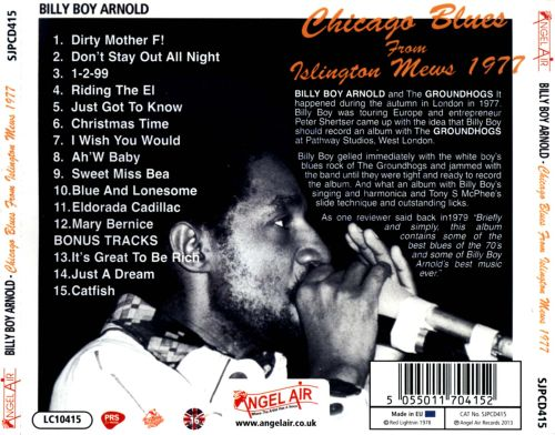 Chicago Blues From Islington Mews 1977