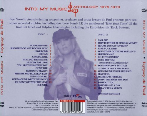 Into My Music: Anthology 1975-1979