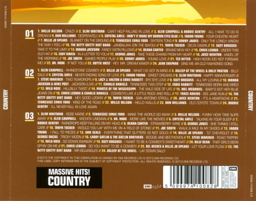 Massive Hits!: Country