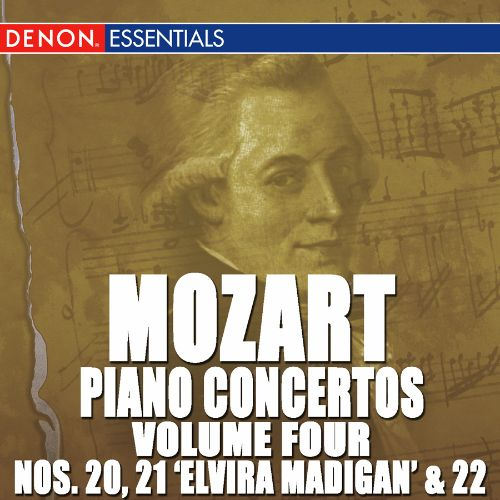Mozart: Piano Concertos, Vol. 4 - No. 20, 21 'Elvira Madigan' & 22