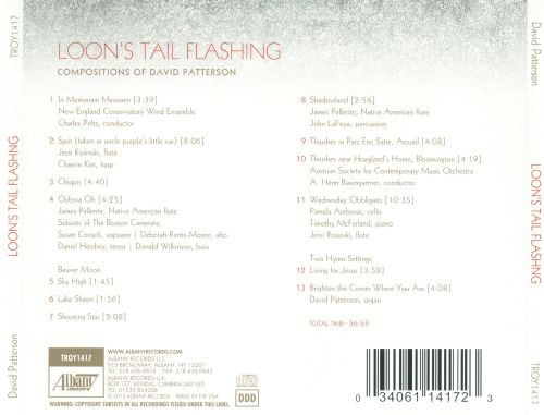 Loon's Tail Flashing: Compositions of David Patterson