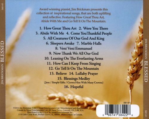 Blessed: Songs of Inspiration