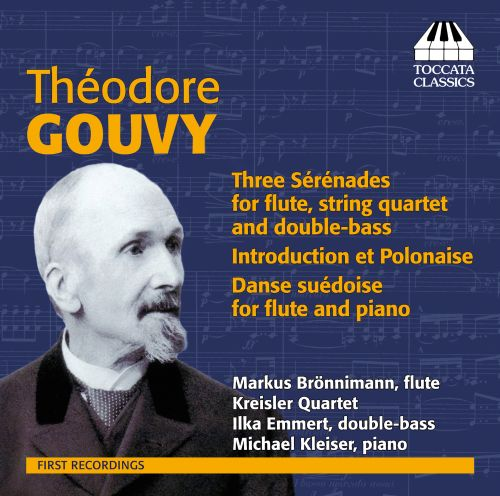 Théodore Gouvy: Serenades for Flute and Strings
