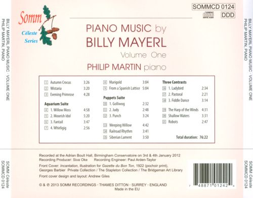 Piano Music by Billy Mayerl, Vol. 1