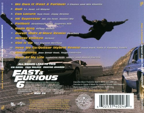 The Fast and the Furious Soundtrack - Stream Songs from ...