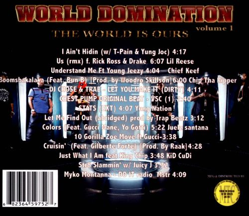 World Domination, Vol. 1: The World Is Ours