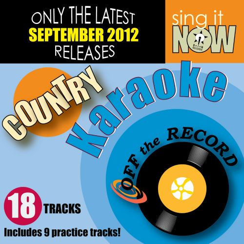 September 2012 Country Hits Karaoke