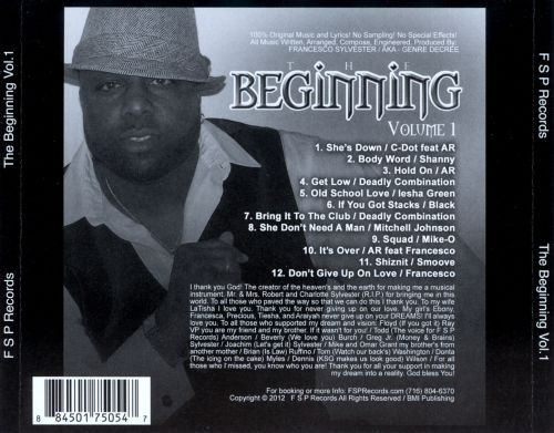 F S P Records: The Beginning, Vol. 1