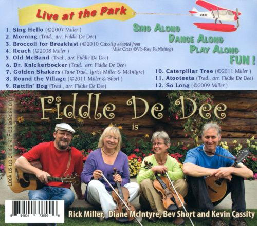 Fiddle De Dee: Live At the Park