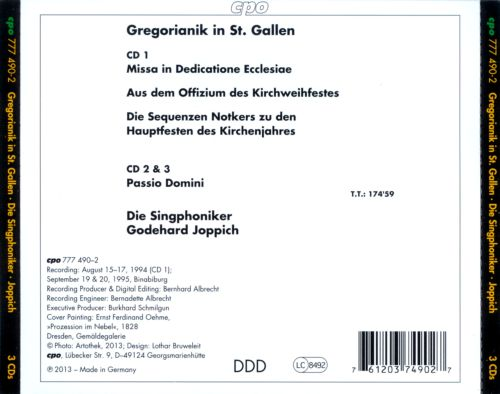 Gregorianik in St. Gallen