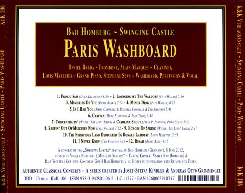 Swinging Castle: Paris Washboard in Concert