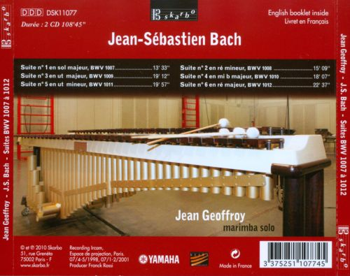 J.S. Bach: Suites BWV 1007 to 1012