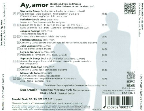 Ay, Amor: About Love, Desire and Passion