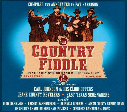 Country Fiddle: Early String Band Music, Vol. 1