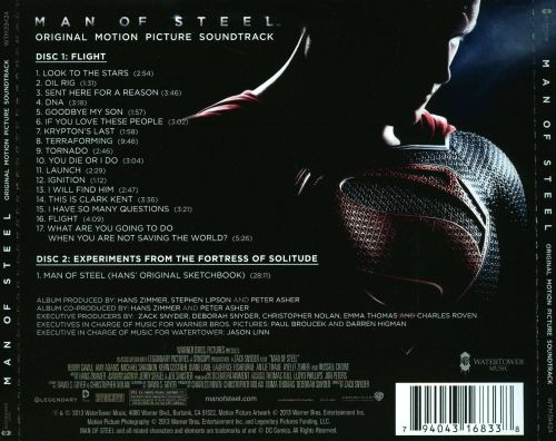 Man of Steel [Original Motion Picture Soundtrack]