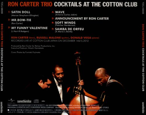 Cocktails at the Cotton Club