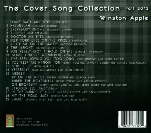 The Cover Song Collection: Fall 2012