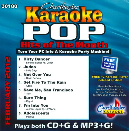 Chartbuster Karaoke: Pop Hits February 2012