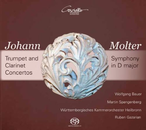 Johann Molter: Trumpet and Clarinet Concertos; Symphony in D