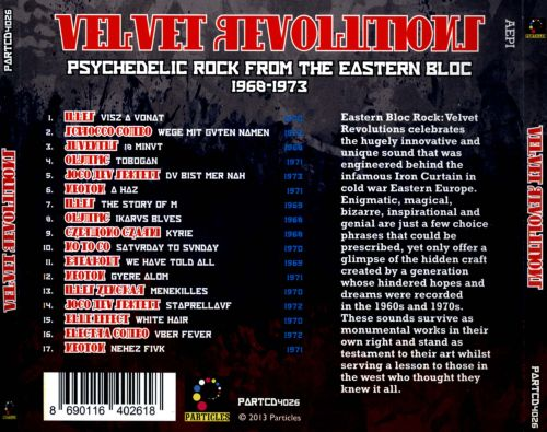 Velvet Revolutions, Vol. 2: Psychedelic Rock from the Eastern Bloc 1969-1973