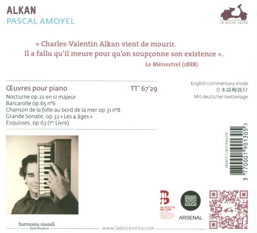 Charles-Valentin Alkan: Oeuvres pour piano