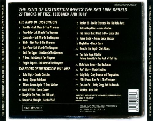 The King of Distortion Meets the Red Line Rebels