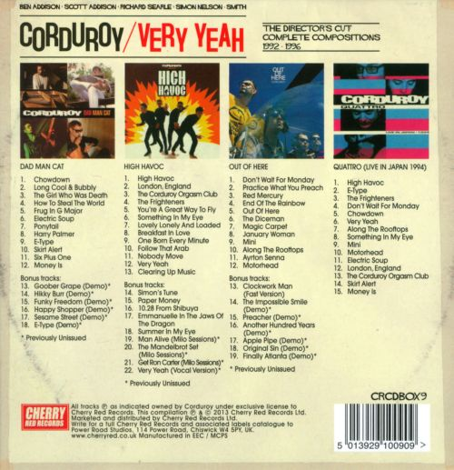 Very Yeah: The Director's Cut Complete Compositions 1992-1996