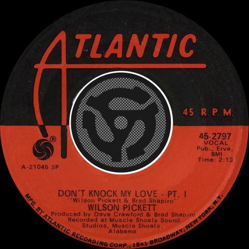 Don't Knock My Love [Single]