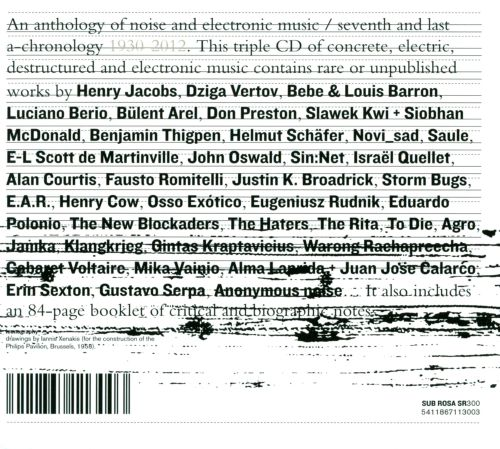 An  Anthology of Noise & Electronic Music, Vol. 7