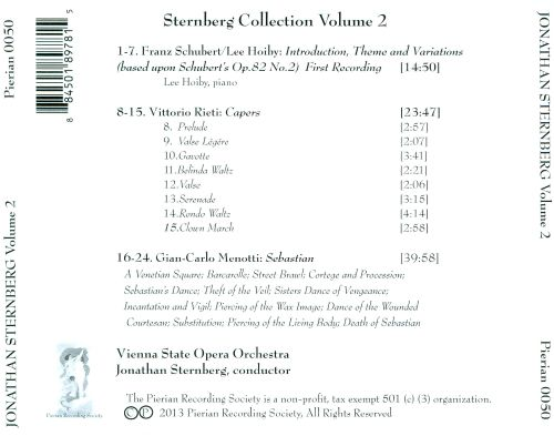 The Sternberg Collection, Vol. 2