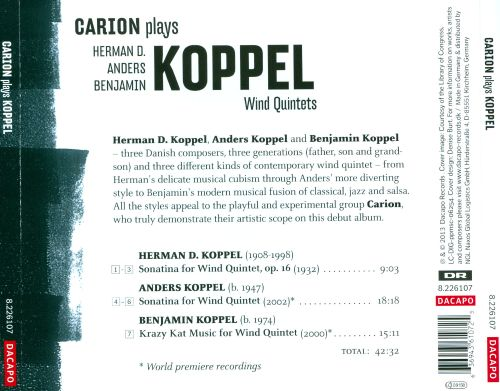 Carion plays Koppel