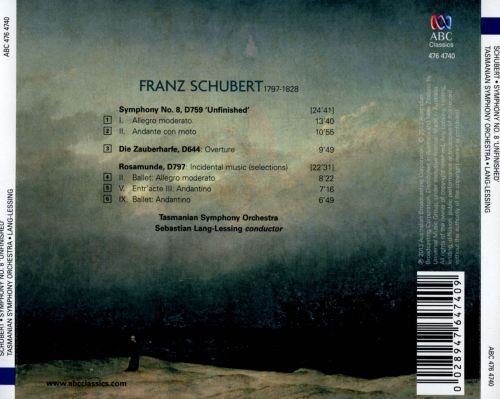 Schubert: Symphony No. 8 'Unfinished'; Incidental Music to Rosamunde - Selections