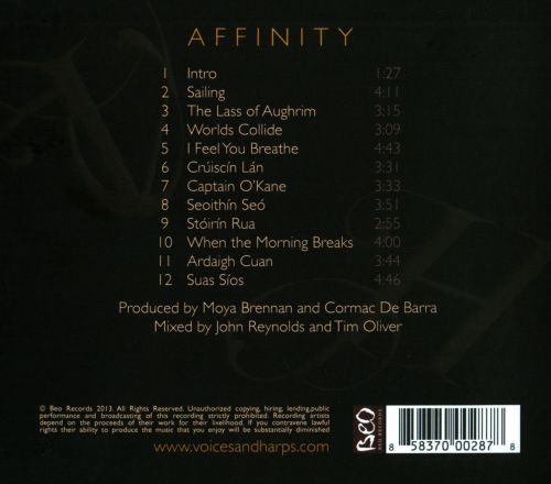 Affinity: Voices & Harps